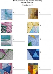 Which quilt Am I (contact info)
